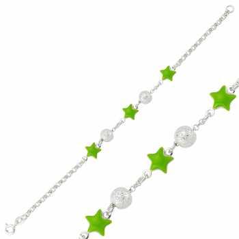 Yeşil Yıldız Çocuk Bileklik