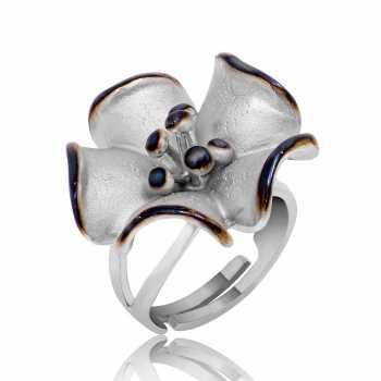 Gümüş Kiraz Çiçeği Yüzük