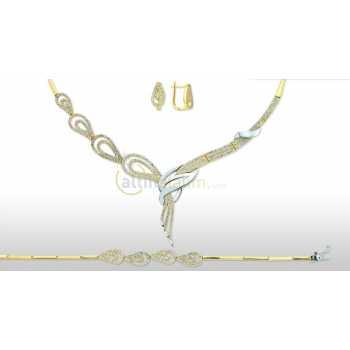 Altın Şık Takı Seti - dg05064