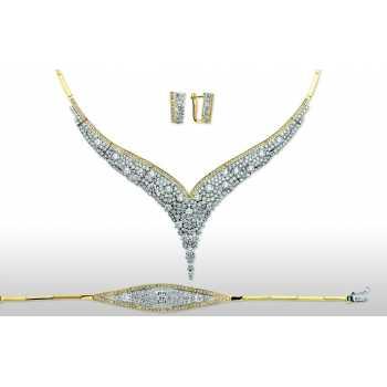 Altın Şık Takı Seti - dg05065
