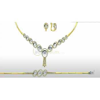 Altın Şık Takı Seti - dg05071