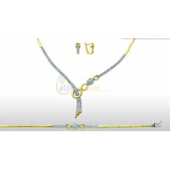 Altın Şık Takı Seti - dg05075