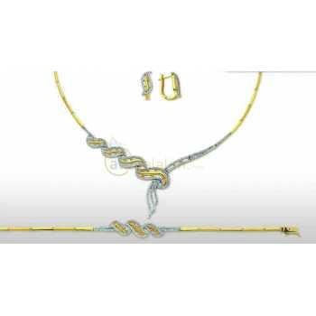 Altın Şık Takı Seti - dg05081