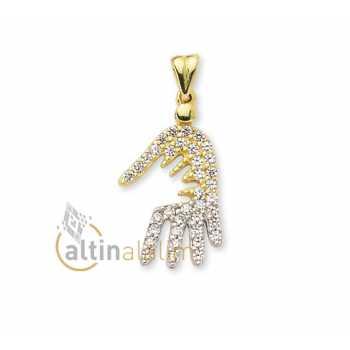 Altın Kolye Ucu - kk01630