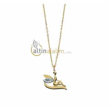 Altın Peri Kolye - kk01243