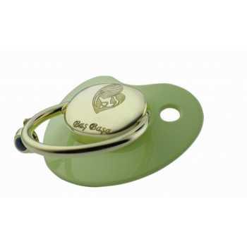 Anne Bebek Altın Emzik - Yeşil - nzb02700