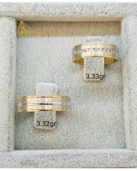 Evliliğin Simgesi Çift Altın Alyans - d4a0..