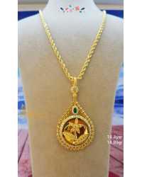 Madalyon Altın Kolye - d4k00239..