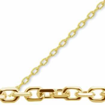 14 Ayar Şık Altın Zincir